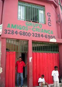Eingang GAC Gebäude